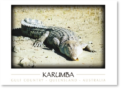 Karumba Gulf Country QLD - DISCOUNTED Small Magnets  KARM-170