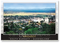Kingaroy South Burnett Queensland - Standard Postcard  KIN-051