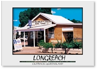 Longreach Information Centre - DISCOUNTED Standard Postcard LON-197