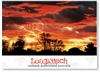 Longreach Landscape Sunset - DISCOUNTED Standard Postcard LON-417