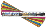 Longreach - DISCOUNTED Scenic Ruler LONR-003