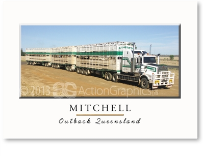 Road Train - Standard Postcard  MIT-446