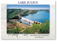 Lake Julius - Standard Postcard  MTI-120