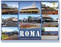 Roma Outback Queensland Australia - DISCOUNTED Standard Postcard  ROM-188