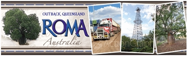Roma Outback Queensland - Long Magnets  ROMLM-002