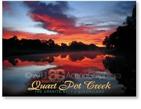 Stanthorpe's Quart Pot Creek - Standard Postcard  STP-005