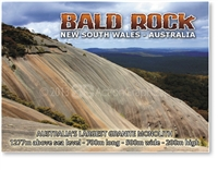 Bald Rock - Small Magnets  STPM-005