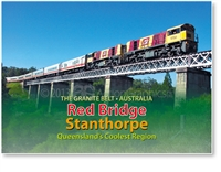 Red Bridge - Small Magnets  STPM-044