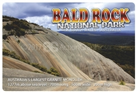 Bald Rock National Park - Rectangular Sticker  STPS-001