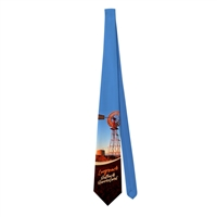 Windmill at outback - Sublimated Ties