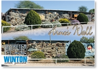 Winton, Arno's Wall - Standard Postcard  WIN-010