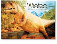 Winton, Dinosaur Country  - Standard Postcard  WIN-171