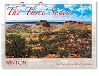 Winton, The Three Sisters  - Standard Postcard  WIN-282