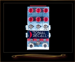 Chase Bliss Audio Tonal Recall Red Knob Mod Analog Delay Pedal