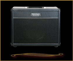 "Mesa Boogie 1x12 Lone Star 23"" Wide Cabinet in Black Taurus with Celestion Gold"