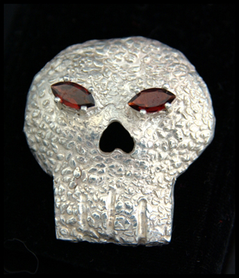 Monstrous Skull Broach