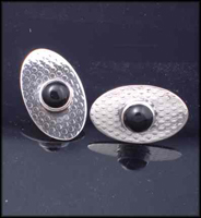 Industrial Oval Cufflinks