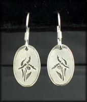 Lady Slipper Earrings