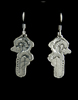 Art Deco Queen Anne's Lace Earrings