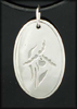 Lady Slipper Pendant