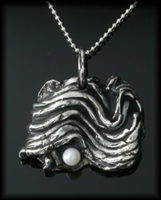 Sea Wave Pendant