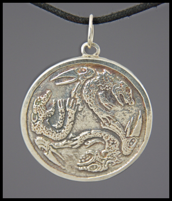 Bird Jaguar Pendant