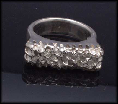 Industrial Texture Ring