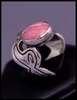 Carnival Ring (with Rhodochrosite)