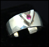 Vala Ring (with Pink Tourmaline)