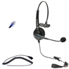 Polycom IP Phone Single-Ear Call Center Headset, RJ9 Quick Disconnect