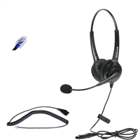 Dual-Ear headset compatible with Allworx Verge Series and 9200 series IP phones