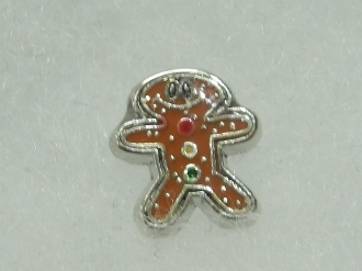 CH-141 GINGER BREAD MAN CHARM