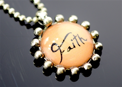 "ZQN1580 ""FAITH"" NECKLACE"