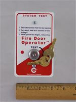 Fire Door Operator System Test Key Switch (3-1102-23)