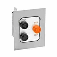Exterior Three Button Flush Mount Control Station