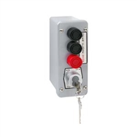 Nema 4 Exterior Three Button With Best Cylinder Or Equivalent Lockout Surface Mount Control Station