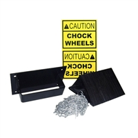 Laminated Wheel Chocks Safety Kit