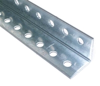 punched angle, aluminum punched angle, garage door angle, garage door hanger aluminum
