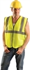 Occulux Class 2 Hi-Viz Value Safety Vest - Solid Yellow