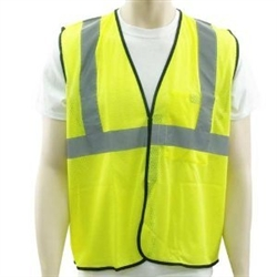 Occulux Class 2 Hi-Viz Value Safety Vest - Mesh Yellow