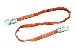Tubular Shock-Absorbing Lanyard 6 Foot Webbing