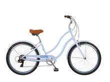 Tuesday Cycles March 7 LS Step Thru Bike Periwinkle 2017 - On Sale NOW at Bikecraze.com