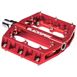 Blackspire Sub4 Enduro Mountain Bike Pedals Red - Memorial Weekend Clearance Sale Now at Bikecraze.com!