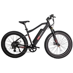 CIVI Predator Fat Tire 500W Electric Bike Matte Black 2018 - On Sale NOW at Bikecraze.com