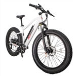 CIVI Predator Fat Tire 500W Electric Bike Pearl White 2018 - On Sale NOW at Bikecraze.com