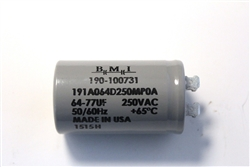 Garage Door Opener Motor Start Capacitor, 100731