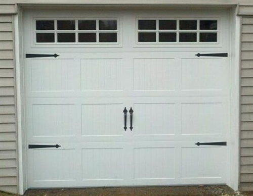 Decorative Garage Door Carriage House Hardware 6pc Set