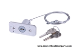 Garage Door Opener Keyed Disconn​ect Lock with 2 Keys