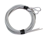 Garage Door Cables for Extension Spring Doors