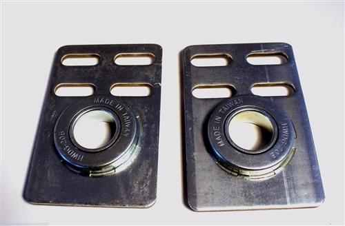 Commercial Garage Door End Bearing Plates 2 3 8 Quot Offset